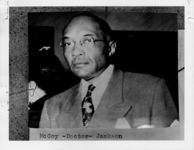 Mississippi State Sovereignty Commission photograph of Doctor A. H. McCoy, Jackson, Mississippi, 1950s