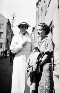 Corinne and Ruth Davis