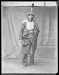 Chippewa man, Da-Kum-ee-gee-shig. Leech Lake, Minnesota 1904