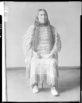 Mrs Murie, wife of James Murie, Coming Sun, chief of the Skidi Pawnee, 1904