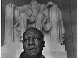 Civil Rights March on Washington, D.C. [A. Philip Randolph, organizer of the demonstration, veteran labor leader who helped to found the Brotherhood of Sleeping Car Porters, American Federation of Labor (AFL)...], 08/28/1963