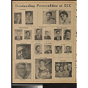 Outstanding personalities at ECC; Memorable events at ECC, 1957-1958
