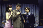 """Actors (L-R) Anne Bobby, Brian Murray and Peter MacNicol in a scene from the Roundabout Theater Co.'s production of the play """"Black Comedy """" (New York)"""