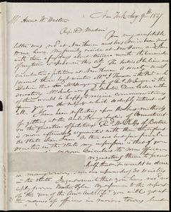 Letter to Anne Warren Weston, Aug. 9th, 1837