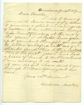 Henderson Newton to J. E. Davis, 24 January