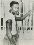 Willie McGee in his cell at Hinds County Jail, Jackson, Mississippi