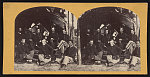 [Soldiers from the 134th Illinois Volunteer Infantry sitting in front of a tent at Columbus, Kentucky]
