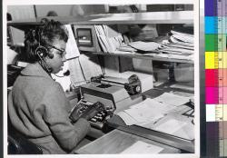 Harriet Bussey--Telephone and Sales -- Classified Adv. Dept. -- The Detroit News