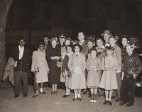 Police benefit, William H. Mortensen and children, Hartford