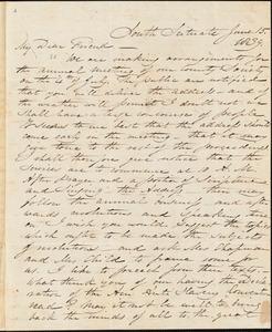 Letter from Samuel Joseph May, South Scituate, [Massachusetts], to William Lloyd Garrison, 1839 June 15