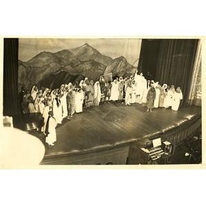 Christ Temple Church pageant cast.