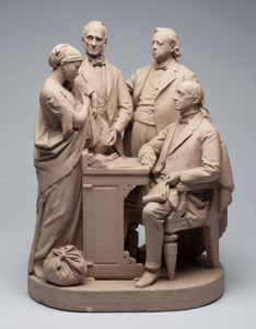 Rogers Group Sculpture - The Fugitive's Story
