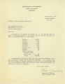Acting Commissioner of the United States Department of Commerce, Bureau of Fisheries, Charles E. Jackson letter to Trinidad Rojo, representative of the Cannery Workers and Farm Laborers Union, regarding the number of persons, by nationality, engaged in the salmon canning industry of Alaska in 1936