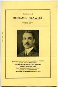 Publications of Benjamin Brawley