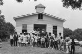 Rose Hill Community: Church, congregation, Albi McGowen, John Henry Gordon (RHP 3-75-7 #1235)