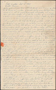 Letter from Owen Wilbour, Little Compton, [Rhode Island], to William Lloyd Garrison, 1845 Sep[tember] 2d