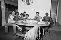 Seated group, Atlantic City