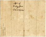 Affidavit Confirming that Henry Loyd was Born Free, 1830 September 23