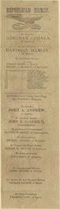 1860 Republican Ticket