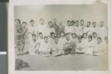 Group photo, Seoul, Korea, 1954