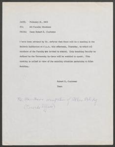 Documents, Feb. 13, 1969