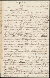 Letter from Samuel Joseph May, Syracuse, [N.Y.], to William Lloyd Garrison, Dec[ember] 3. 1859