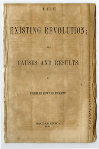 The existing revolution; its causes and results.