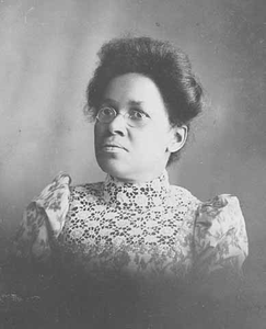 Unidentified African American woman.
