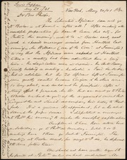 Letter to] Dear Bro Phelps [manuscript