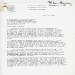 Letter to Judge Arthur W. Garrity
