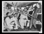 Tuskegee adds training program Introducing a group of student officers to the new liaison plane at the Tuskegee Army Air Field is Second Lieutenant Curry, liaison instructor.