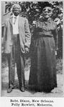 Robt. Dixon, New Orleans; Polly Rowlett, Meherrin