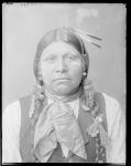 Front view of Wichita Anadarko Indian. Oklahoma 1904