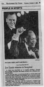 Article about Joe Louis