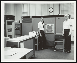 IBM 1800 computer at Exxon Research and Engineering Company laboratory
