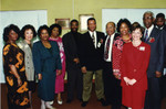 Honorees Burton, Carter, and Comer with Attendees at African American Living Legends Program