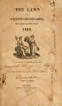 Laws of North-Carolina [1822] Laws of the State of North-Carolina.