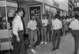 Civil rights demonstration at the Carolina Theater
