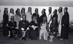 Al Koran and Zamora members posing together, Los Angeles, 1987