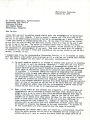 August W. Eberle correspondence with Bennie Carmichael, 1960 October 24