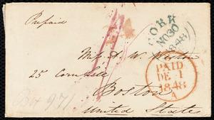 Letter from Isabel Jennings, Cork, [Ireland], to Anne Warren Weston, Nov. 28, 1848