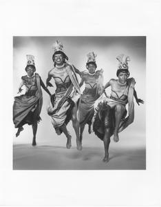 """""""Afrique"""": Desiree Vlad, Marilyn Banks, Barbara Pouncie, & Renee Robinson"""