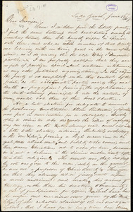 Letter from Seth Paine, Lake Zurich, [Illinois], to William Lloyd Garrison, [18]47 June 12