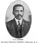 C. F. Cannon; Secretary Princeton Committee, Princeton, N.J