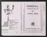 Freefall [production records] (Box 3, Folder 4)