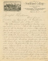 Letter from William Russell to Joseph Dickinson, February 7, 1885