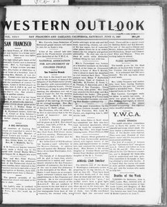 Western Outlook (San Francisco and Oakland, Calif.), Vol. 33, No. 36, Ed. 1 Saturday, June 11, 1927 The Western Outlook