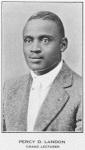 Percy D. Landon, Grand Lecturer