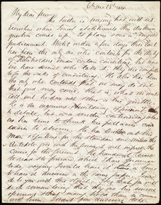 Letter from Edward Morris Davis to Maria Weston Chapman, 6th mo[nth] 18th [day] [18]44