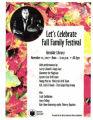 Fall Family Festival, 2001